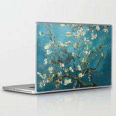 Blossoming Almond Trees, Vincent van Gogh. Famous vintage fine art. Laptop & iPad Skin