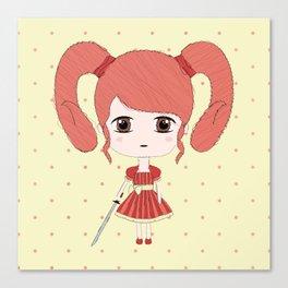 Aries Girl Canvas Print