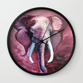 Blended Strength Wall Clock