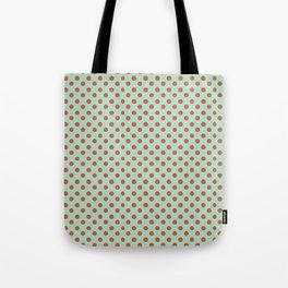 Polka Dot Frenzy Tote Bag
