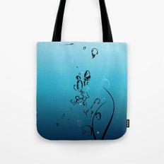 Fluid Inspiration Tote Bag