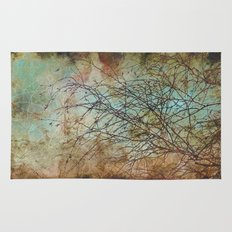 For the love of trees - textured photography Rug