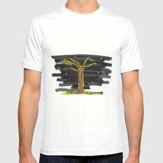Tree#2 Mens Fitted Tee MEDIUM White