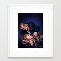 frankenstein Framed Art Prints featuring Frankenstein by tillieke