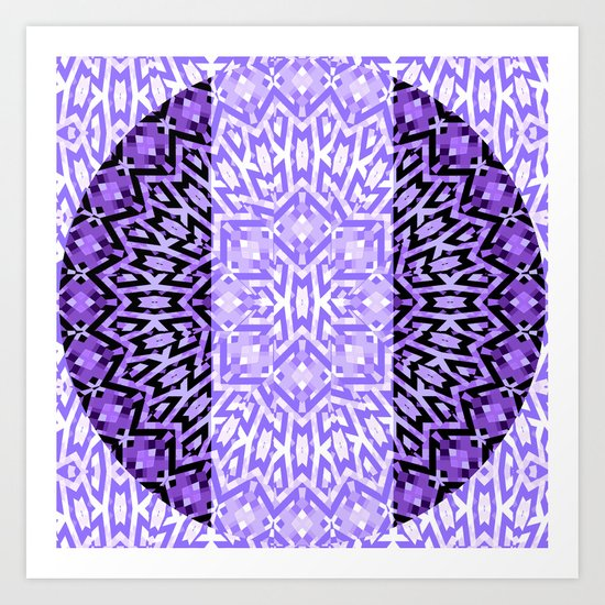 Purple #5 Art Print