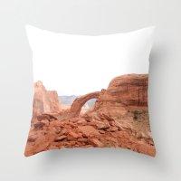 utah Throw Pillows featuring Utah by prism POP