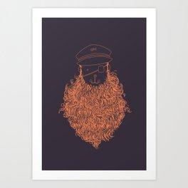 Aye Aye Captain Art Print