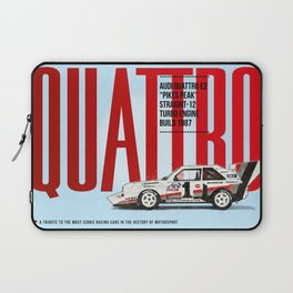 Quattro Tribute Laptop Sleeve