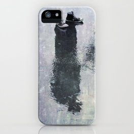 The Invisible Man Right View iPhone Case