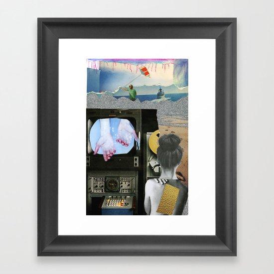 Stuck in a Dream Framed Art Print