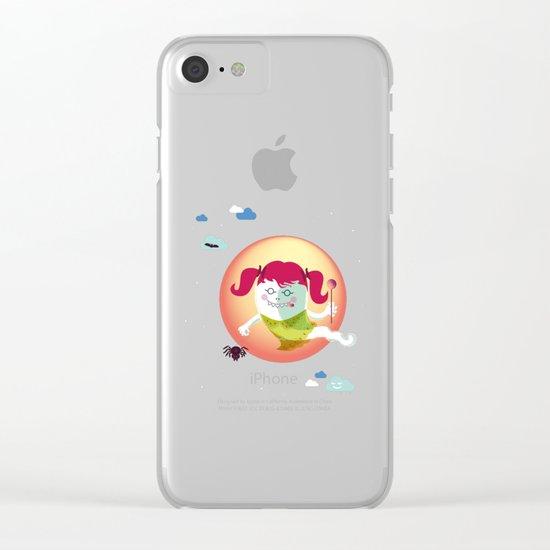 Lunetta Clear iPhone Case