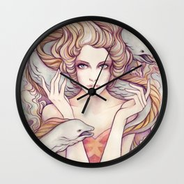 Flotsam and Jetsam Wall Clock