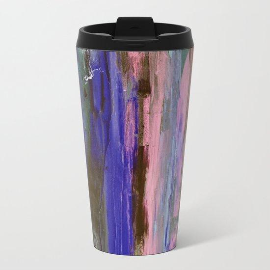 Abstract #2.5 Metal Travel Mug