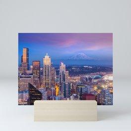 Seattle 01 - USA Mini Art Print