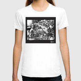 Burning Monk T-shirt