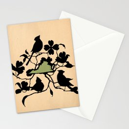 Virginia - State Papercut Print Stationery Cards