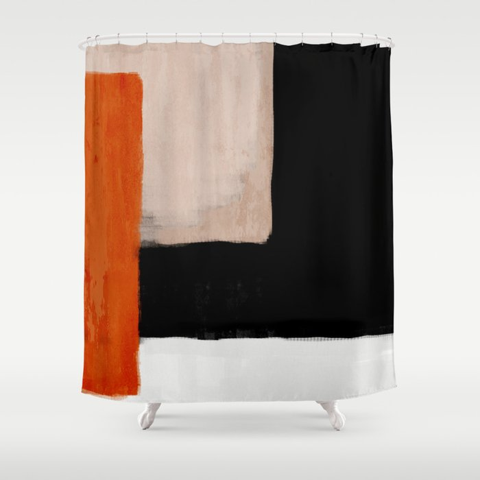 abstract minimal 14 Duschvorhang