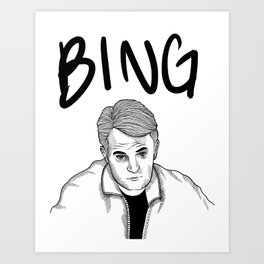 chanandler bong Art Print