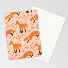 Socks the Fox - Dawn Stationery Cards