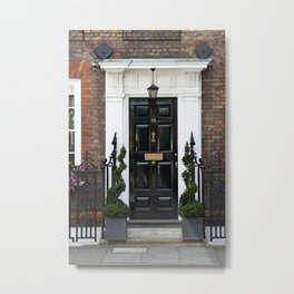 Westminster door 2 Metal Print