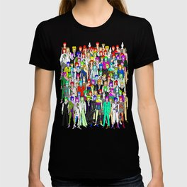 Heroes Punks in Tokyo T-shirt