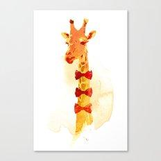 Elegant Giraffe Canvas Print
