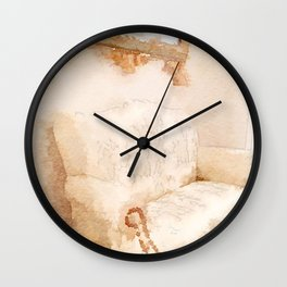 Loveseat Wall Clock