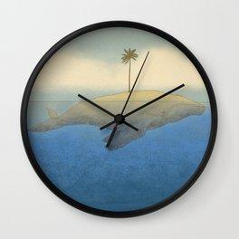 Peaceful Humpback Wall Clock