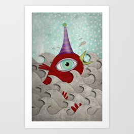 I survived my own birthday. Art Print