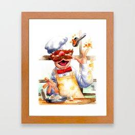 Swedish chef Framed Art Print