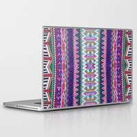 folk Laptop & iPad Skins featuring FOLK by Vasare Nar