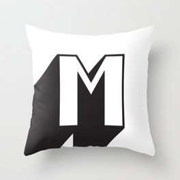 SUPER M Throw Pillow