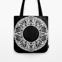 halo Tote Bags featuring Halo by salazarhawn