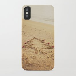 Merry Christmas! - Christmas at the beach iPhone Case