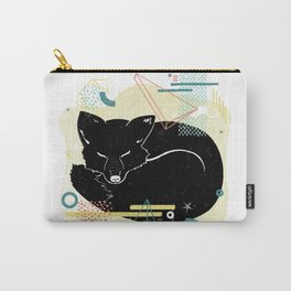 Dreaming fox illustration Carry-All Pouch