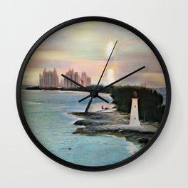 The Islands Of The Bahamas - Nassau Paradise Island Wall Clock