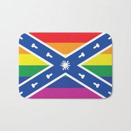 Gay Confederacy Bath Mat