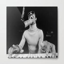 Stevie Wonder Canvas Poster Room Decoration Metal Print