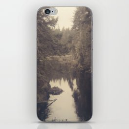 Beyond the ridge iPhone Skin