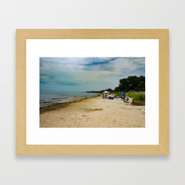 Ipperwash Beach, Ontario Framed Art Print