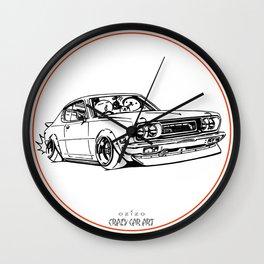 Crazy Car Art 0197 Wall Clock