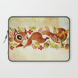 Playful Squirrel Laptop Sleeve
