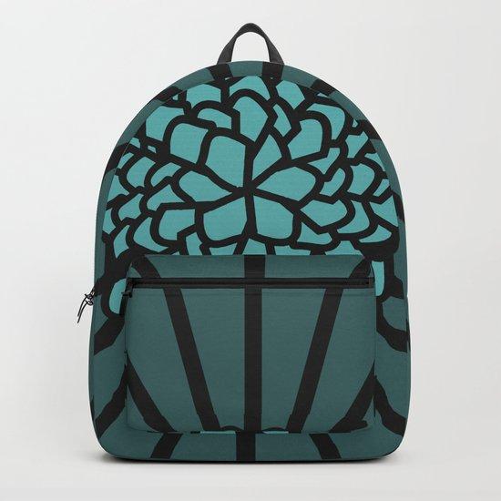 Floral depth Backpack