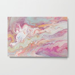 And come forth from the cloud of unknowing Metal Print