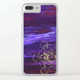 Transported Clear iPhone Case