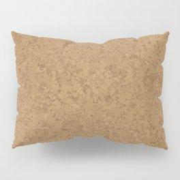 Cork Board Background Pillow Sham