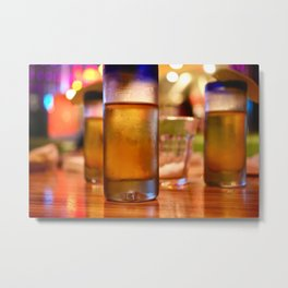 One Two Three Tequila Metal Print