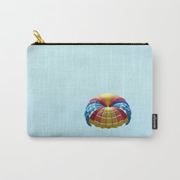 Parachuting over the sea, parasailing Carry-All Pouch