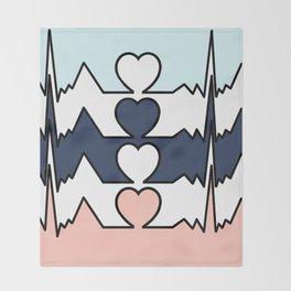BIG HEART Throw Blanket
