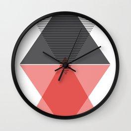 Scandinavian  triangular  art Wall Clock